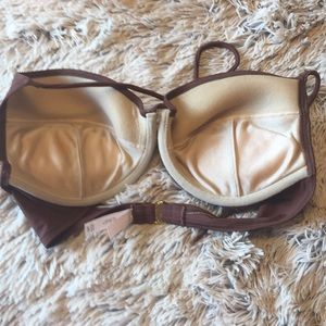Victoria's Secret Swim - Victoria Secret Brown Bikini Swimsuit 👙 34D - S